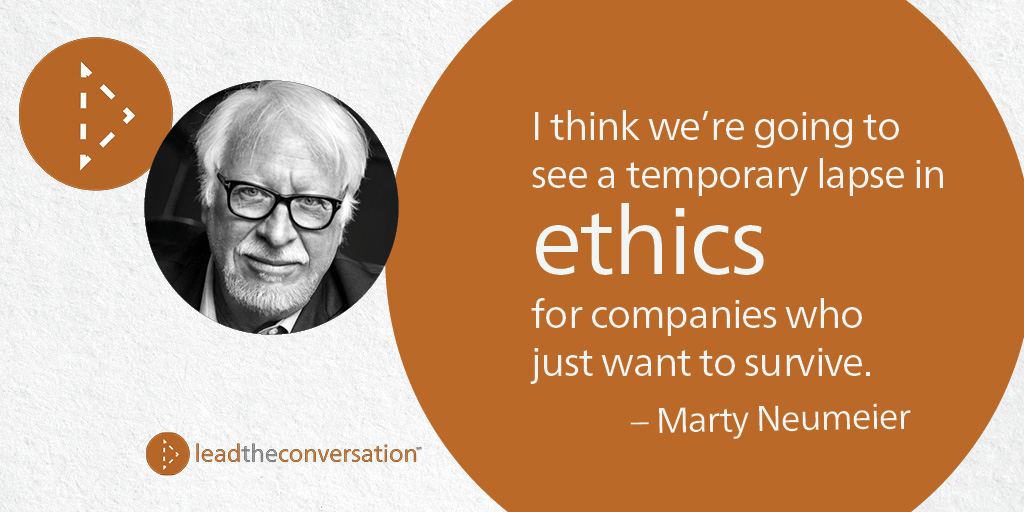 Marty Neumeier on business purpose and ethics